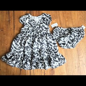 DKNY Leopard dress baby girl